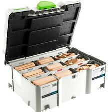 FESTOOL DOMINO BISCUIT JOINTER Dowel Beech Beechwood for Joining System Festo