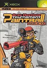 Greg Hastings Tournament Paintball Max'd Microsoft Xbox Game Complete