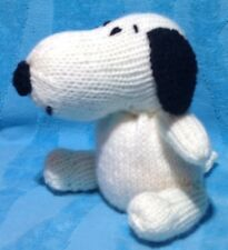 KNITTING PATTERN - Peanuts inspired Snoopy orange cover or 14 cms toy