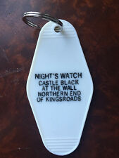 NIGHT'S WATCH CASTLE BLACK keytag