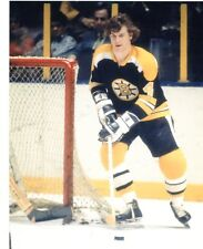 BOBBY ORR BOSTON BRUINS BEHIND NET UNSIGNED 8X10 PHOTO