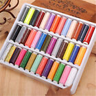 Hot 39pcs 200 Yard Mixed Colors Polyester Spool Sewing Thread For Hand Machine