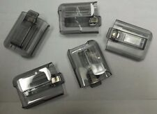 LOT OF 5   MOTOROLA / UNICATION PAGER BELT CLIP HOLSTER - ADVISOR - ELITE - FLEX