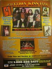 Kiss, Kiss Years Book, Full Page Vintage Promotional Ad