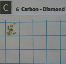 20 synthetic Diamonds 0,7 - 0,9 mm - pure element 6 sample