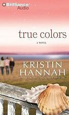 TRUE COLORS bestselling audio book on CD by KRISTIN HANNAH