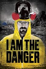 "BREAKING BAD POSTER ""I AM THE DANGER"" LICENSED ""BRAND NEW"" WALTER WHITE"