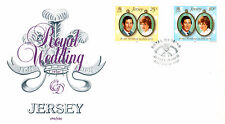 JERSEY 28 JULY 1981 ROYAL WEDDING JPO UNADDRESSED FIRST DAY COVER SHS
