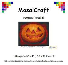 "Mosaicraft pixel Craft Kit de l'art mosaïque ""CITROUILLE"" Halloween"