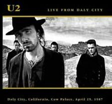 U2 LIVE FROM DALY CITY 2CD California Cow Palace USA April 25 1987 PRE-ORDER!!