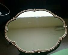 Vintage scallop shape  mirror