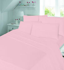 100% Brushed Cotton Thermal Flannelette Flat Sheets 4 Available Sizes