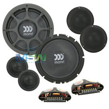 "MOREL VIRTUS NANO 603 6-1/2"" 3-WAY COMPONENT SLIM SHALLOW MOUNT SPEAKER SYSTEM"