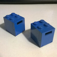 2X LEGO 4346 + 4345a Container Box 2 x 2 x 2 6844 6951 6882 6980 6930 6844 1490