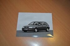 PHOTO DE PRESSE ( PRESS PHOTO ) Volkswagen Golf GL de 1992 VW311
