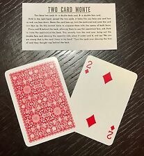 TWO CARD MONTE (POKER) EASY POCKET MAGIC CARD TRICK