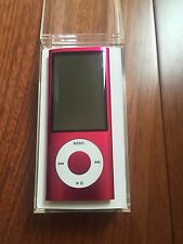 Apple 8GB iPod Nano 5th Generation Pink Camera A1320