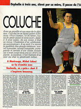 COUPURE de presse PHOTO CLIPPING  COLUCHE