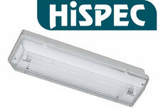 HISPEC Non Maintained Emergency Bulkhead Light Fitting IP65 8W With Lamp NM3 3HR