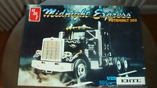 AMT Peterbilt 359 Conventional Midnight Express Sealed Inside