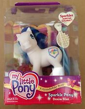 My Little Pony G3 Figure DENIM BLUE 2003 Brand New