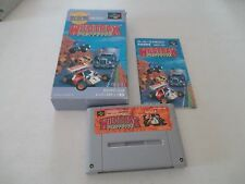 WILDTRAX WILD TRAX NINTENDO SFC SUPER FAMICOM JAPAN IMPORT COMPLETE IN BOX