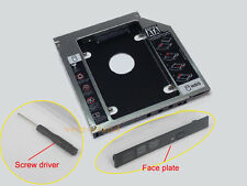 Universal 12.7mm Optical Bay 2nd SATA HDD Hard Drive Caddy Module Tray Adapter
