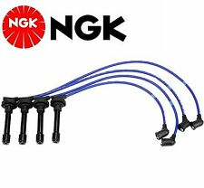 NGK Spark Plug Ignition Wire Set For Honda Civic 1.6L 1999-2000