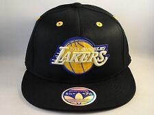 NBA Los Angeles Lakers Adidas Flexfit Hat Cap Black Size S/M