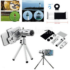 12X Zoom Camera Telephoto Telescope Lens+Mount Tripod For Samsung Galaxy S7 Edge