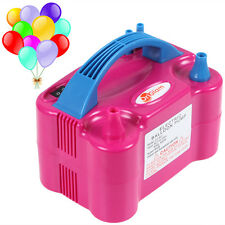 Dual Nozzle Pink 600W EU / US110V / 220V Electric Balloon Blower Pump Inflator