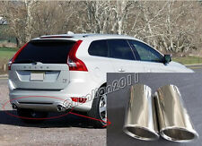 Steel Pipes EXHAUST MUFFLER TIP for 2009-2013 Volvo XC60 Stainless Steel