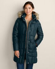 Eddie Bauer 2014 Women's Lodge Parka Coat Nordic Size XS