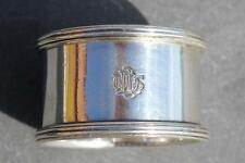 WHITE STAR DOMINION LINE 1922 1ST CLASS SILVER PLATE OCEAN LINER NAPKIN RING