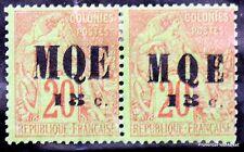 FRANCE  Colonies Françaises Martinique  Yt 2 2a Neuf * signé Scott 3 4 an21