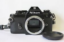 Nikon EM Black 35mm SLR Film Camera Body Only. Tested. Free Warranty