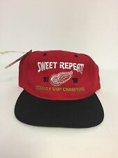 NWT HeadMaster NHL Detroit Red Wings 96-97 Repeat Snap Back Hat