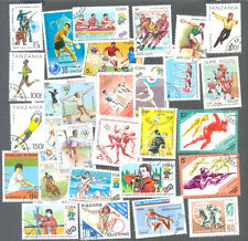 Sports on stamps Thematics 100 all different collection