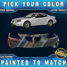 NEW Painted to Match Front Bumper Cover Replacement 2004-2008 Pontiac Grand Prix