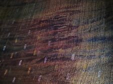 """Blue/Olive/Plum - 46"""" Wide Sparkling Organza Lame Fabric - Sold by the Yard"""