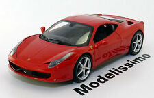1:18 Hot Wheels Ferrari 458 Italia 2009 red