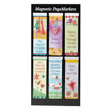 Heart Of Friends Set Of 6 Magnetic Bookmark Pagemarker 366000