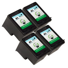 4PK HP 61 Ink Cartridge CH561WN - Deskjet 1000 Deskjet 1050 Deskjet 2050 Printer