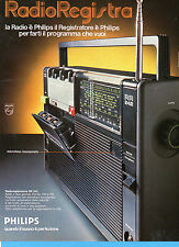 (AM) EPOCA975-PUBBLICITA'/ADVERTISING-1975- PHILIPS RADIOREGISTRATORE RR 242