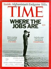 2011 Time Magazine: Where the Jobs Are/Afghanistan's Endgame