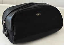 NIKE Dopp Kit BLACK Shaving Kit Bag Toiletry Case Travel Zip Top Mens #BJ