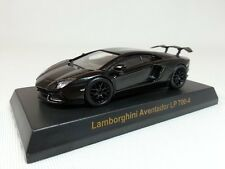 1:64 Kyosho Lamborghini Aventador Matt Black Dealer Edition