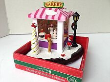 Bakery Musical Christmas House By Merry Brite  ~Plays Music w/ lights- NEW