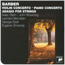 Barber: Violin Concerto; Piano Concerto; Adagio for Strings New CD