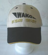 WAKO 50 Years 1961-2011 Embroidered Ball Cap Hat Khaki Color NEW WITHOUT TAG